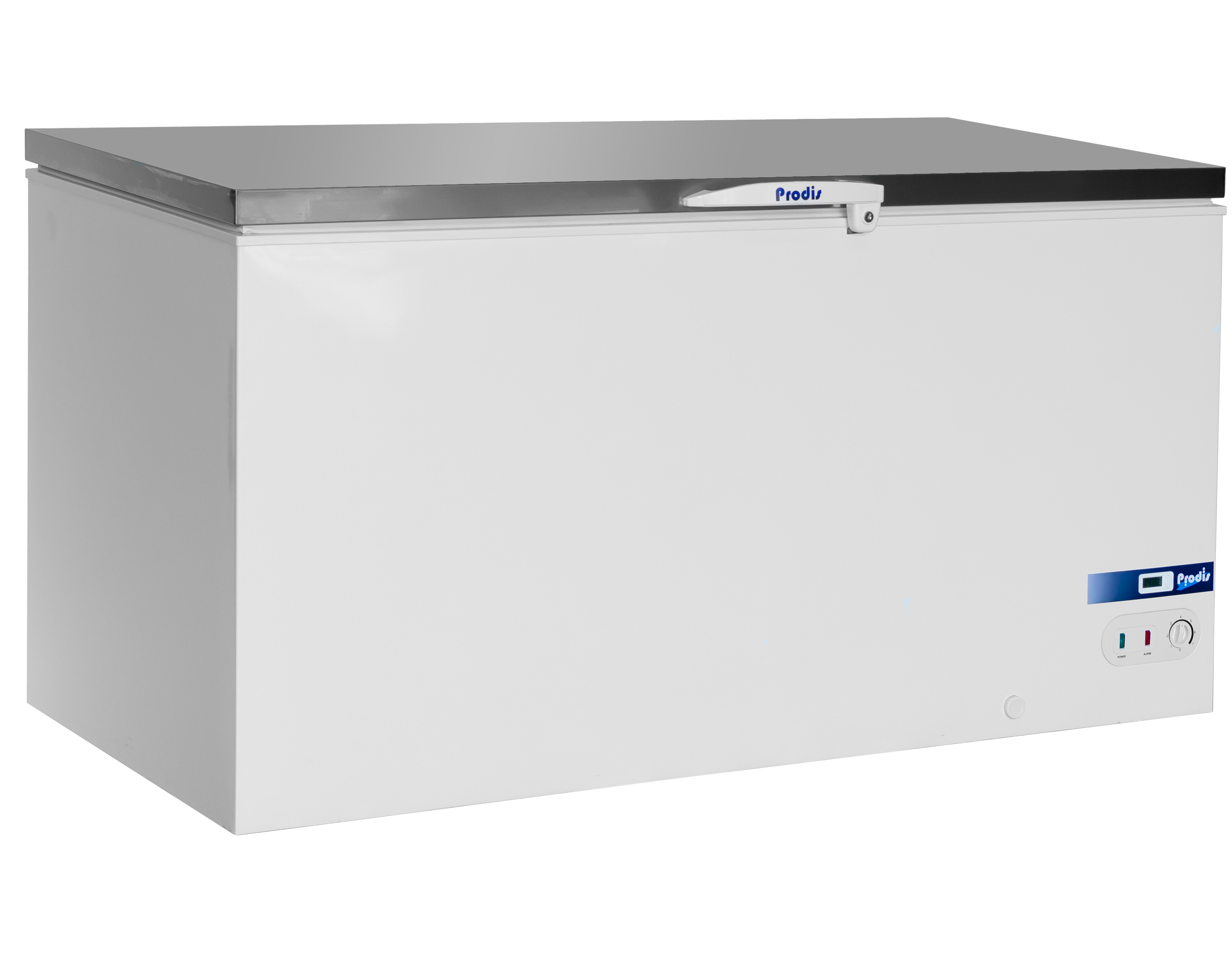 Prodis Arctic AR550SS, Stainless Steel Lid Chest Freezer, 550 Litres, 5 Year Full Warranty