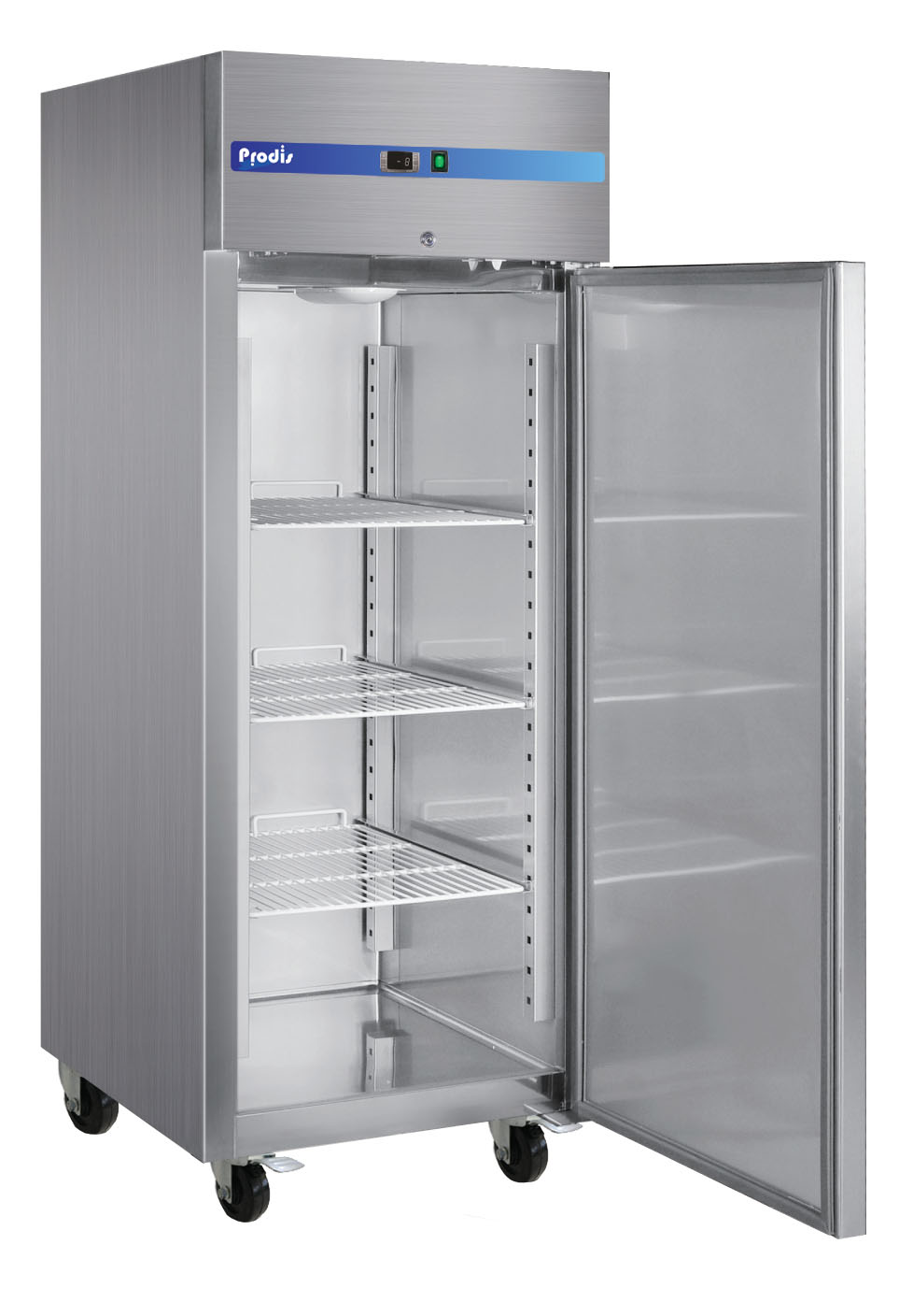Prodis GRN-1F Professional Single Door Stainless Steel Service Freezer - 595 Litres