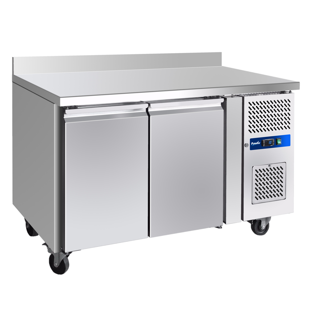 Prodis GRN-W2F Professional Two Door Stainless Steel Counter Freezer